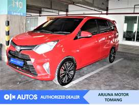[OLX Autos] Toyota Calya 2016 1.2 G M/T Bensin Merah #Arjuna Tomang