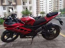 Yamaha R15V2, Fury Red, 2011 Model , 3rd owner