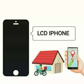 GANTI LCD TOUCHSCREEN IPHONE 6S+ Original OEM HOME SERVICE DELIVERY