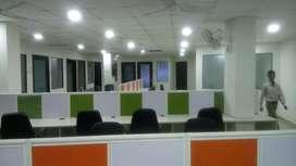 25 seater cabin furnished office at vijay nagar indore