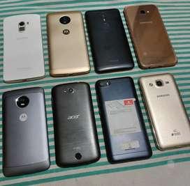 Samsung J2 (4G),  Samsung J2 Pro, Samsung J4+, Redmi 6A,  Moto G5