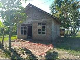 300M EMBUNG MERDEKA Tanah Bonus Rumah dekat Jl Samas JK7992
