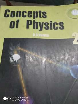 HC VERMA FOR IIT PHYSICS BOTH VOLUMES 1&2