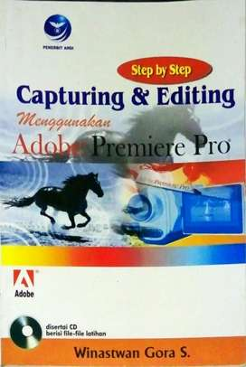 Capturing dan editing menggunakan Adobe