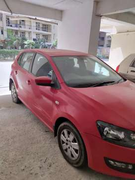Volkswagen polo well driven car