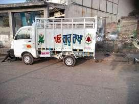 Mahindra Supro truck if any company wants on rent