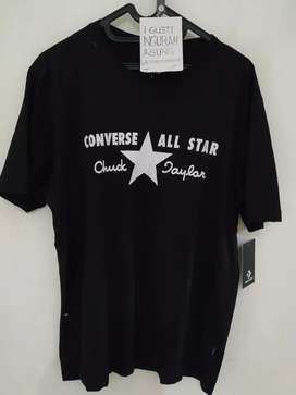 Tees Converse ct 70s logo black original resmi store