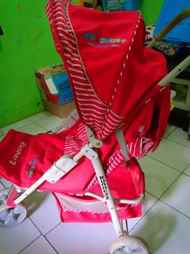 Stroler baby Runner 2 merah