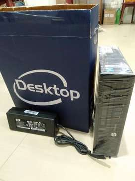 Hp i3 4rth gen Cpu 4gb ram 240gb SSD 1year warranty gst paid