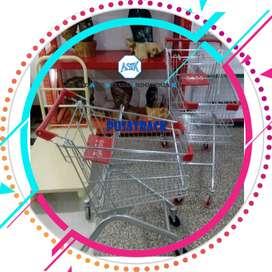 Trolley Keranjang Mininimarket