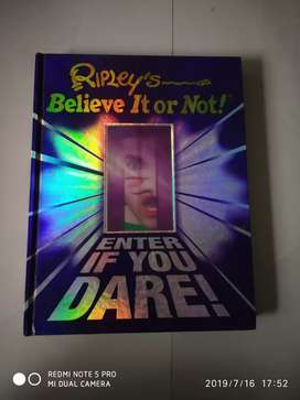 Believe it or not book