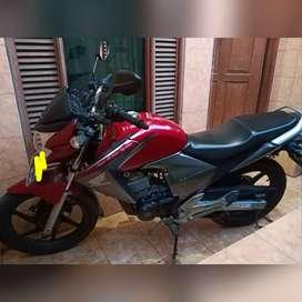 Honda Mega Pro Merah KM 4ribuan motor bekas