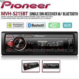PIONEER MVH-S215BT BLUETOOTH/USB single din head unit bluethoots