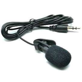 clip on mic jepit kabel