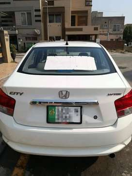 Honda City white 2014 model car for sale