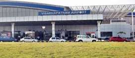 Hiring For Airport Fresher / Ground Staff at Visakhapatnam Airport