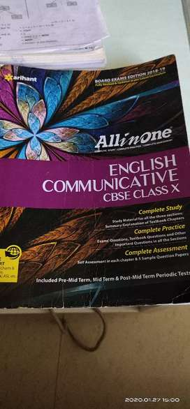 All in one  English communicative CBSE class 10