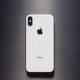 Iphone x 256 with box
