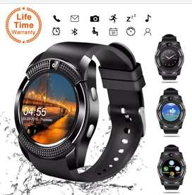 V8 Smart Watch Bluetooth Touch Screen Android with Camera SIM Support