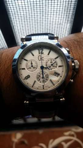 Guess collection Swiss made chronograph like new seiko tissot omega