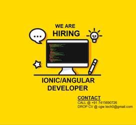Ionic_Angular Developer