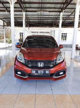 Honda brio rs matic tahun 2016 km low