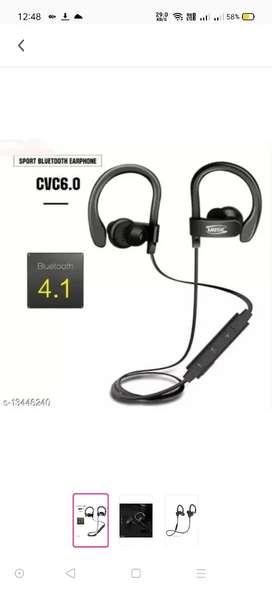 modern style earphones