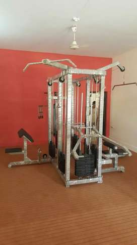 Gym machines available