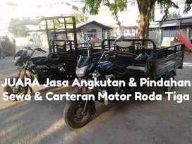 Sewa Carteran Jasa Angkut Pindahan Motor Pickup Roda Tiga Viar Tossa