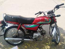 Cd 70 honda for sale first hand used