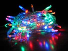 Lampu Tumblr Rainbow 10 Meter 50 LED Dekorasi Solo Micro