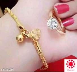 Mewah gaya dengan Gold plated