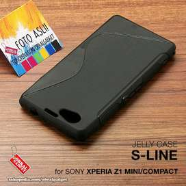 Sony Xperia Z1 Mini Compact Silicon Casing Case Soft Jelly Softcase