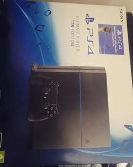 Ps4 ultimate edition 1tb used for sale