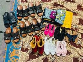 Arba chappal and ladies shoe's