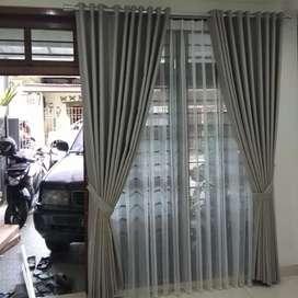 Curtain Gorden Korden Tirai Hordeng Blinds Gordyn Wallpaper Dinding
