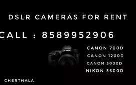 Dslr cameras for rent