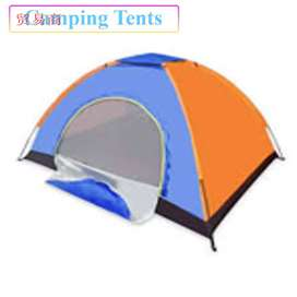 Waterproof Camping Tent made up of durable parachute fabric