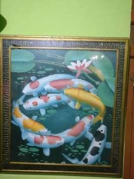 Lukisan L 80cm P 73cm