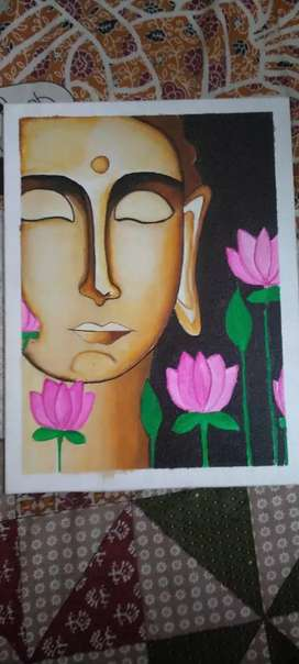 Painting of Lord Buddha