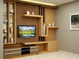 Back Drop Tv Minimalis Hpl