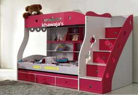 khawaja's Bunk bed 3 in 1 on order any color