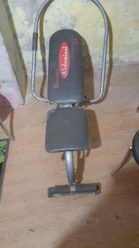 Abdominal machine only 1700 fix pricee