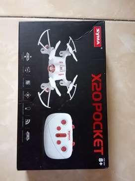 Pocket drone syma x20