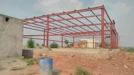 MARQUEE manufacturer and parking shade . Steel structur. Prefab buildi