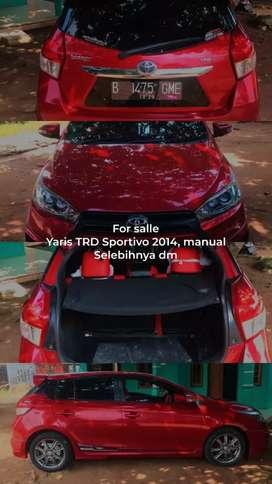 TURUN HARGA!! Toyota Yaris TRD Sportivo 2014 (TIPE TERTINGGI)