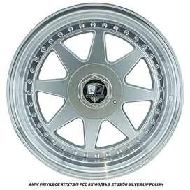 VELG RACING XENIA JAZZ BRIO PRIVILAGE R17X7.5-9.0 8X100-114,3 ET25-30