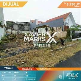 Dijual Cepat Tanah SHM di Jalan Bunga Lely Malang