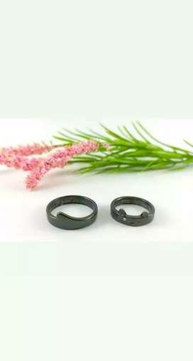 Promo beli cincin nikah sepasang sudah free box dan ukir nama