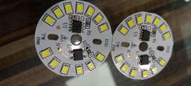 7w LED BULB DOB CHIP PRIZE 22 Rs.